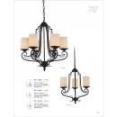 仿花結構吊燈-6燈座/3燈座(y14763 燈飾 吊燈)