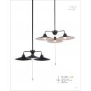 工業風極簡飛碟吊燈(y14764 燈飾 吊燈)