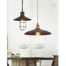 工業風仿銅烤漆吊燈(y14766 燈飾 吊燈)