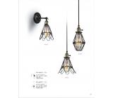 工業風鐵網造型壁/吊燈(y14768 燈飾 吊燈)