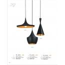 黑色鋁材吊燈(y14777 燈飾 吊燈)