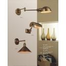 電鍍鐵材壁燈(y14798 燈飾 壁燈)