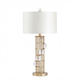 y15994 燈飾.電扇系列 - 桌燈 -新款金屬水晶桌燈