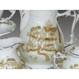 y11267 餐茶玻璃系列- 簡歐新磁瓷器-鄉韻8頭茶具組