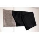 毛質異材質拼接桌旗-黑色(y14788 地毯,桌旗,抱枕,布品 - 桌旗,桌巾,桌墊)