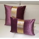 紫色抱枕-小抱枕(y14806 地毯,桌旗,抱枕,布品 )-共3色 黑色.紫色.銀色
