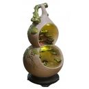 福(葫)報平安 造型流水 (y14961 庭院擺飾品-開運流泉-開運流泉)