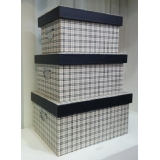 咖菱收纳箱-套3 (y14680 樣品書、電視、道具- 道具商品)