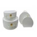白貼皮手提箱-套2 (y14682 樣品書、電視、道具- 道具商品)