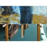 y11471  美術相關材料用品系列-5呎畫架
