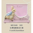 y15711 比得兔系列-名片座系列-比得兔跑兔名片座 共4種款式