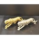 ~賺到豹~招財擺飾金色( y15086 立體雕塑.擺飾 動物、人物系列 金錢豹)另有銀色