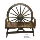 柚木車輪椅  y14980 傢俱系列 實木家具
