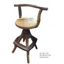 柚木靠背吧台椅 y14982 傢俱系列 實木家具