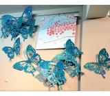鐵材藝術 y15064 鐵雕壁飾系列蝴蝶壁飾  (4件一組)