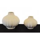 立體雕塑擺飾陶瓷花器 y15099 立體雕塑.擺飾 -陶瓷花器 大小/2件1組*