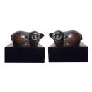 雕塑福豬 (y15097 立體雕塑.擺飾 立體擺飾系列-動物、人物系列)*