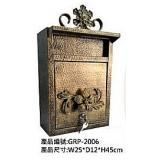 鐵皮信箱 y15022 金屬工藝品 鍛鐵信箱
