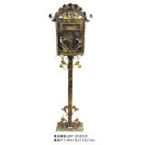 鐵皮信箱 y15030 金屬工藝品 鍛鐵立式信箱