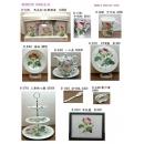 餐具組系列y13654 新品目錄- 淺玫瑰餐具器皿杯盤組系列- R-6101馬克杯+杯墊禮盒