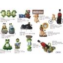 擺飾系列y13852 新品目錄- 擺飾系列 - 青蛙擺飾- 淡定