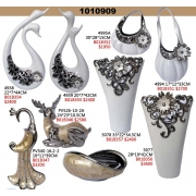 立體擺飾系列 y15056 新品目錄-電鍍 陶瓷 POLY系列