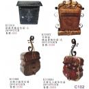 鐵皮信箱y13893 新品目錄- 鐵皮信箱 -古銅金鐵皮書報信箱-大