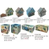 彩繪家飾系列y13894 新品目錄-彩繪家飾系列--彩繪面紙盒
