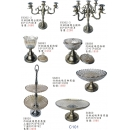 傢飾系列y13895 新品目錄-傢飾系列-仿銅5頭燭台擺飾
