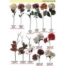 人造花系列 y13898 新品目錄- 人造花系列 ---梵妮大利花(金紫紅)