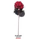 人造花系列 y13908 新品目錄- 造花系列-單支鑽石繡球(紅)