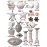 陶瓷擺飾系列y13922 新品目錄-陶瓷擺飾系列-蓮花蠋台( 白.咖.紫共3色 )