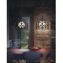 鋼材造型烤漆吊燈(y14970-新品目錄 燈飾-工業風造型燈飾)