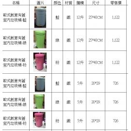 y15674-新品目錄 - 傢俱系列 - 垃圾桶.傘桶.洗衣籃.衣帽架(2017年9月進貨)-更多相關目錄請點選更多圖片