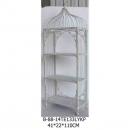 白色收納鐵架(大)-y15141-鐵材藝術系列-鐵材擺飾