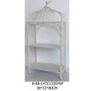 白色收納鐵架(小)-y15140-鐵材藝術系列-鐵材擺飾