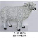 綿羊擺飾 y15128(B-117-A1436-108 X50 X 80cm)