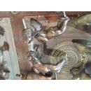 銅雕小天使門把/對-y15181-銅雕系列-銅雕立體掛飾