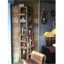 柚木不規則長方收納書櫃y15176傢俱系列-實木家具