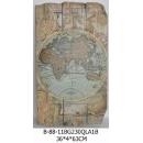世界地圖壁飾東方-y15164立體壁飾-世界地圖系列
