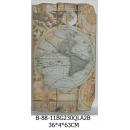 世界地圖壁飾西方-y15165立體壁飾-世界地圖系列