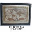 世界地圖壁飾-y15167立體壁飾-世界地圖系列