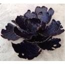 黑色典雅鐵壁飾芙蓉花-y15180-鐵雕壁飾系列-鐵材藝術(5種尺寸)