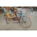 緬甸三輪車-y15355-立體擺飾