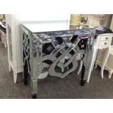 y13695 傢俱系列-玻璃及壓克力傢俱  中國結銀鏡桌