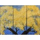 油畫樹木/3入-y15362-畫作系列