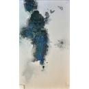 墨蝶油畫-y15366-畫作系列---已售出 可訂製