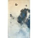 墨蝶油畫-y15367-畫作系列---已售出 可訂製