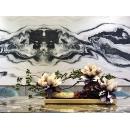 y16175 花藝設計.花材果樹 花藝設計-水平花藝(玄關桌.電視櫃盆花 )