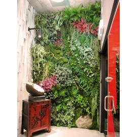 植栽牆-y16187花藝設計.花材果樹 花藝設計-壁式花藝(植栽牆)